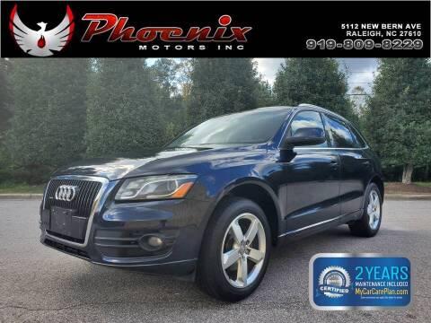 2010 Audi Q5 for sale at Phoenix Motors Inc in Raleigh NC