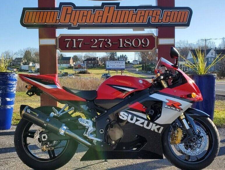 2005 Suzuki GSX-R600 for sale at Haldeman Auto in Lebanon PA