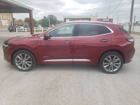 2022 Buick Envision for sale at Faw Motor Co in Cambridge NE
