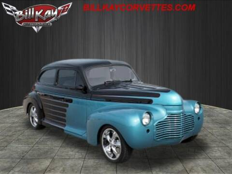 1941 Chevrolet Master Deluxe for sale at Bill Kay Corvette's and Classic's in Downers Grove IL