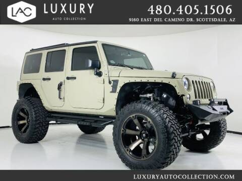 2018 Jeep Wrangler JK Unlimited for sale at Luxury Auto Collection in Scottsdale AZ