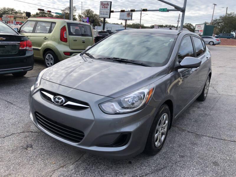 2014 Hyundai Accent for sale at Beach Cars in Fort Walton Beach FL