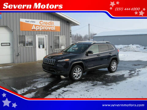 2014 Jeep Cherokee for sale at Severn Motors in Cadillac MI