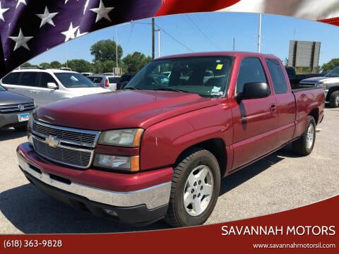 2006 Chevrolet Silverado 1500 for sale at Savannah Motors in Belleville IL