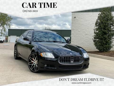 2009 Maserati Quattroporte for sale at Car Time in Philadelphia PA