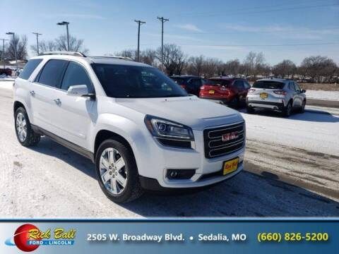 2017 GMC Acadia Limited for sale at RICK BALL FORD in Sedalia MO