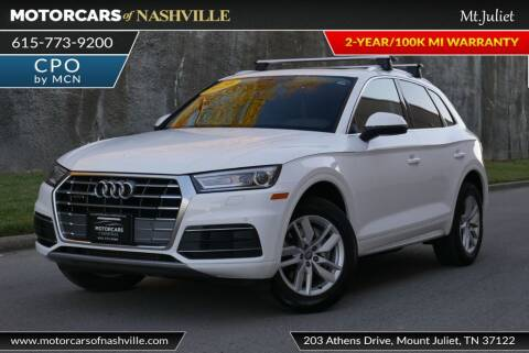 2020 Audi Q5 for sale at MotorCars of Nashville in Mount Juliet TN