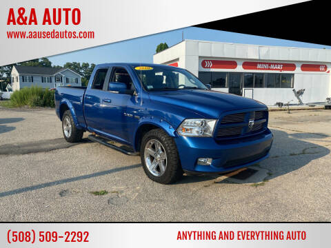 2010 Dodge Ram Pickup 1500 for sale at A&A AUTO in Fairhaven MA
