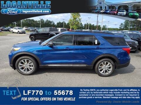 2020 Ford Explorer for sale at Loganville Quick Lane and Tire Center in Loganville GA