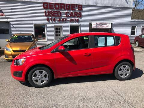2015 Chevrolet Sonic for sale at George's Used Cars Inc in Orbisonia PA