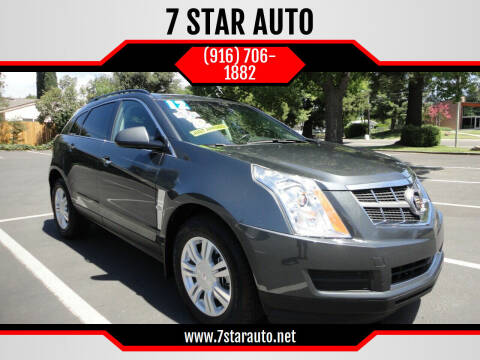 2012 Cadillac SRX for sale at 7 STAR AUTO in Sacramento CA