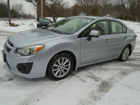 2013 Subaru Impreza for sale at Wimett Trading Company in Leicester VT