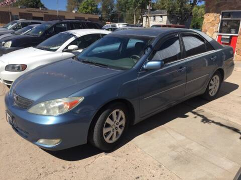 2003 Toyota Camry for sale at PYRAMID MOTORS AUTO SALES in Florence CO