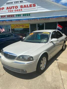 2004 Lincoln LS for sale at Top Auto Sales in Petersburg VA