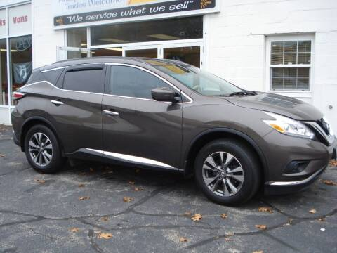 2016 Nissan Murano for sale at Colonial Auto of Worcester Inc in Worcester MA