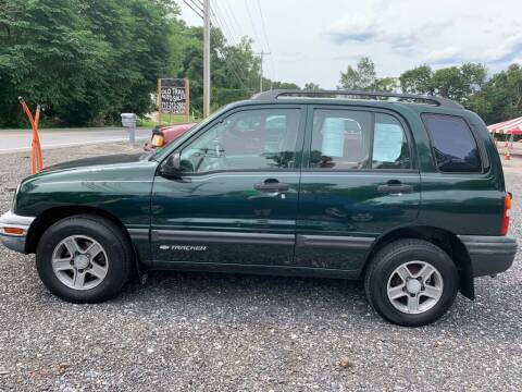 2003 Chevrolet Tracker for sale at Old Trail Auto Sales in Etters PA