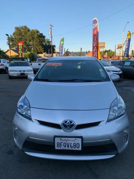2012 Toyota Prius Plug-in Hybrid for sale at Victory Auto Sales in Stockton CA