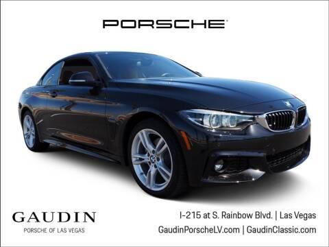 2018 BMW 4 Series for sale at Gaudin Porsche in Las Vegas NV