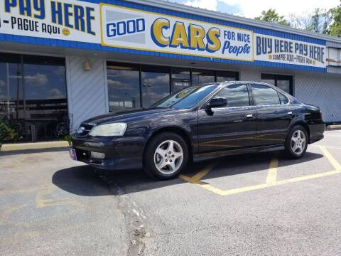 2003 Acura TL for sale at Good Cars 4 Nice People in Omaha NE