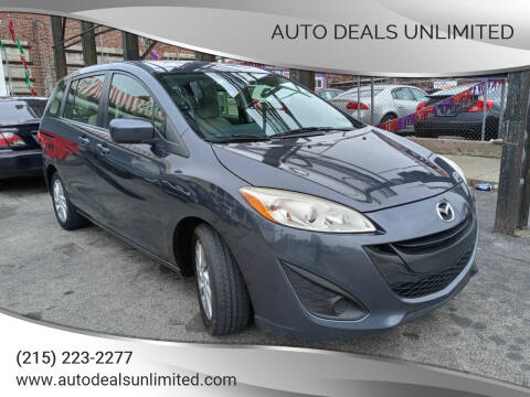 2012 Mazda MAZDA5 for sale at AUTO DEALS UNLIMITED in Philadelphia PA