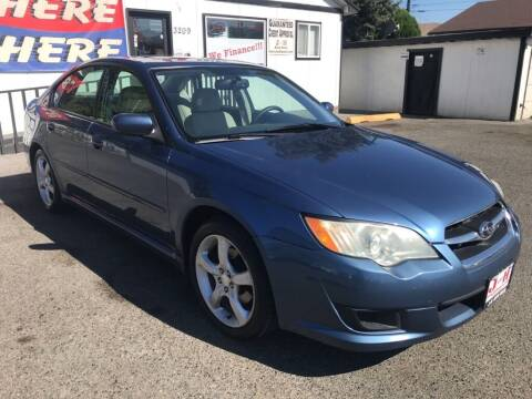 2008 Subaru Legacy for sale at J and H Auto Sales in Union Gap WA