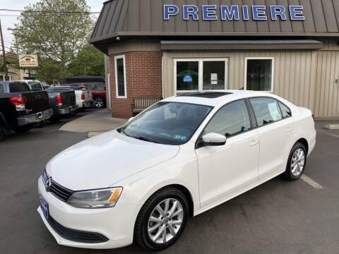 2011 Volkswagen Jetta for sale at Premiere Auto Sales in Washington PA