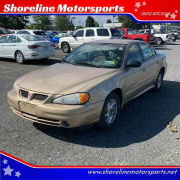 2003 Pontiac Grand Am for sale at Shoreline Motorsports in Waterbury CT