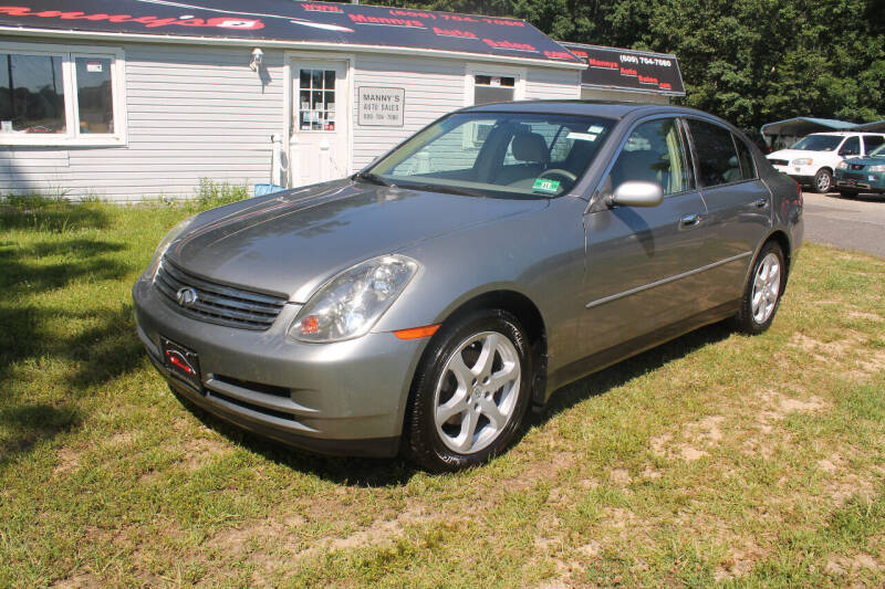 2004 Infiniti G35 for sale at Manny's Auto Sales in Winslow NJ