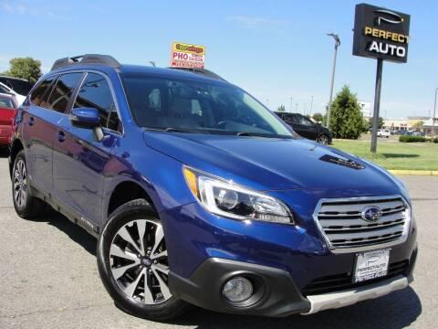 2016 Subaru Outback for sale at Perfect Auto in Manassas VA