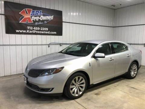 2014 Lincoln MKS for sale at Karl Pre-Owned in Glidden IA