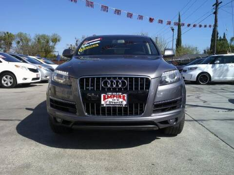 2012 Audi Q7 for sale at Empire Auto Sales in Modesto CA