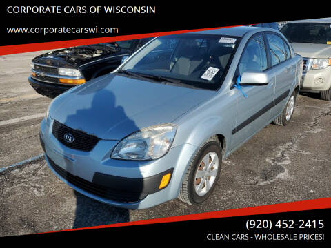 2008 Kia Rio for sale at CORPORATE CARS OF WISCONSIN - DAVES AUTO SALES OF SHEBOYGAN in Sheboygan WI