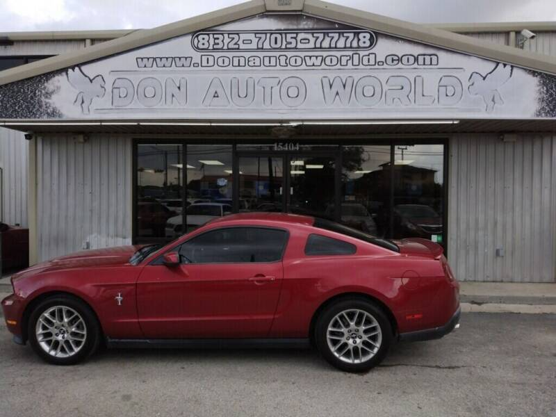 2012 Ford Mustang for sale at Don Auto World in Houston TX