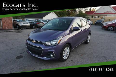 2017 Chevrolet Spark for sale at Ecocars Inc. in Nashville TN