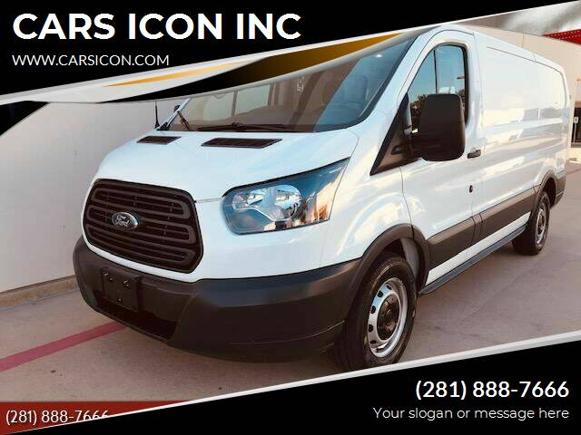 2016 Ford Transit Cargo for sale at CARS ICON INC in Houston TX