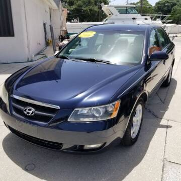 2006 Hyundai Sonata for sale at Steve's Auto Sales in Sarasota FL