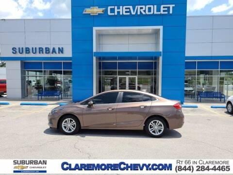 2019 Chevrolet Cruze for sale at Suburban Chevrolet in Claremore OK