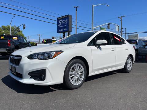2018 Subaru Impreza for sale at 5 Star Auto Sales in Modesto CA