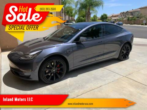 2018 Tesla Model 3 for sale at Inland Motors LLC in Riverside CA