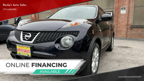 2014 Nissan JUKE for sale at Rocky's Auto Sales in Worcester MA