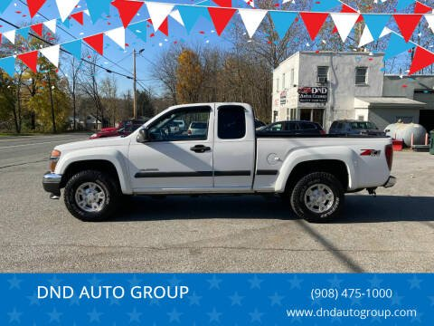 2004 Chevrolet Colorado for sale at DND AUTO GROUP in Belvidere NJ