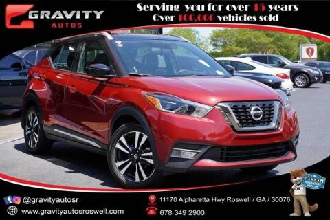 2019 Nissan Kicks for sale at Gravity Autos Roswell in Roswell GA
