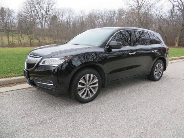 2014 Acura MDX for sale at EZ Motorcars in West Allis WI