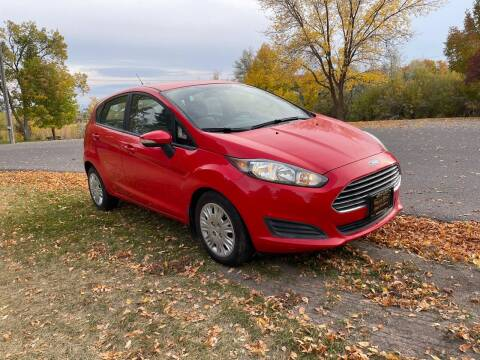 2014 Ford Fiesta for sale at BELOW BOOK AUTO SALES in Idaho Falls ID