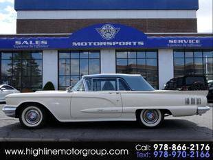 1960 Ford Thunderbird for sale at Highline Group Motorsports in Lowell MA