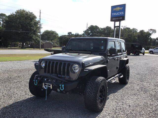 2018 Jeep Wrangler Unlimited for sale at LEE CHEVROLET PONTIAC BUICK in Washington NC