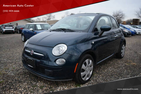 2015 FIAT 500c for sale at American Auto Center in Austin TX