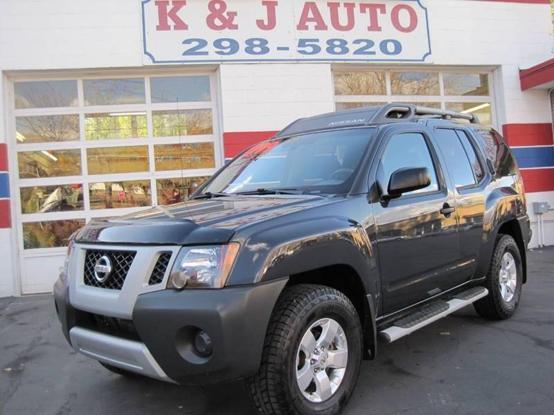 2011 Nissan Xterra for sale at K & J Auto Rent 2 Own in Bountiful UT