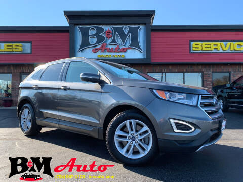 2015 Ford Edge for sale at B & M Auto Sales Inc. in Oak Forest IL