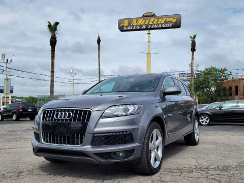 2013 Audi Q7 for sale at A MOTORS SALES AND FINANCE in San Antonio TX